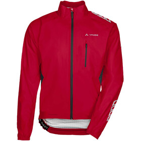 VAUDE Spray IV Jas Heren rood